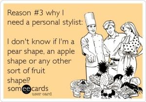 """Razón 3, """"No se si soy una manzana, pera, o cualquier otro tipo de fruta"""""""