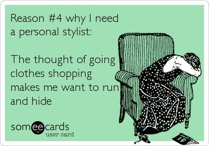 """Razón 4: """"La idea de ir de compras me da ansiedad"""""""