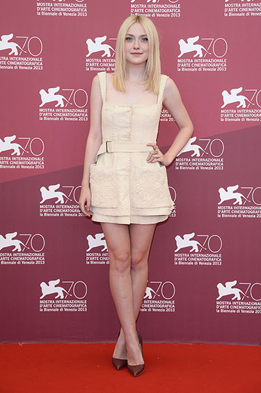 Dakota Fanning en Alexander Mc Queen