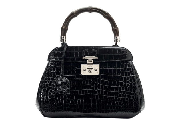 Gucci, crocodile leather, Lady lock bag