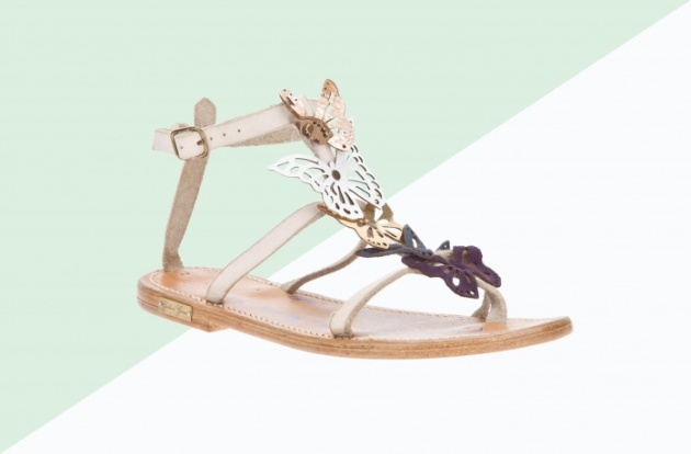 k jacques st tropez butterfly sandal