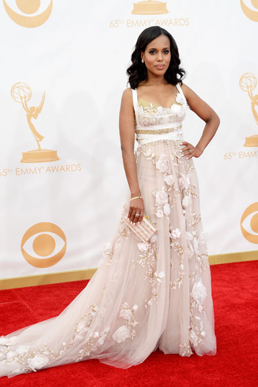 Kerry Washington en Marchesa