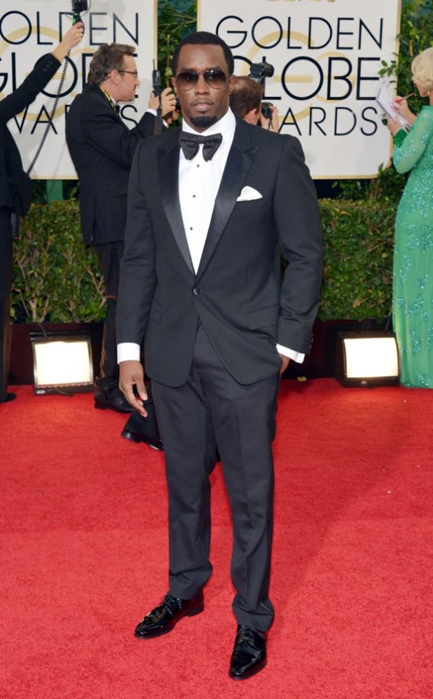 Sean Combs oversize bowtie