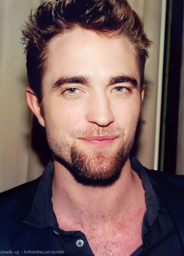Robert Pattinson con barba perilla