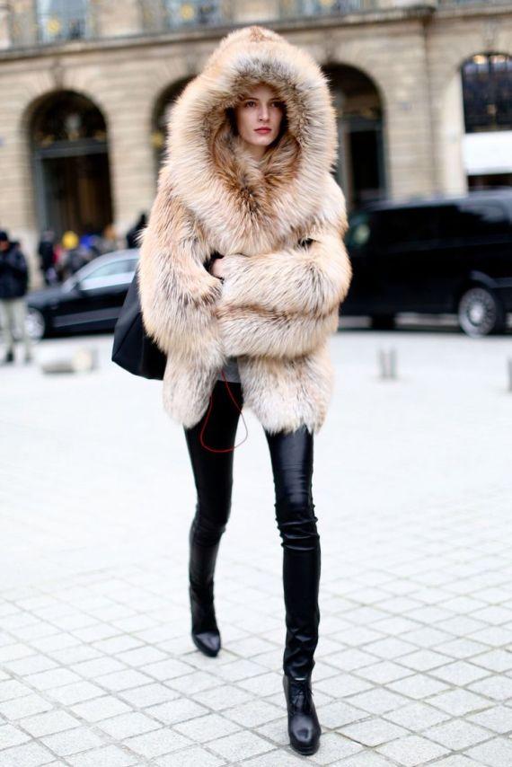 abrigo pieles
