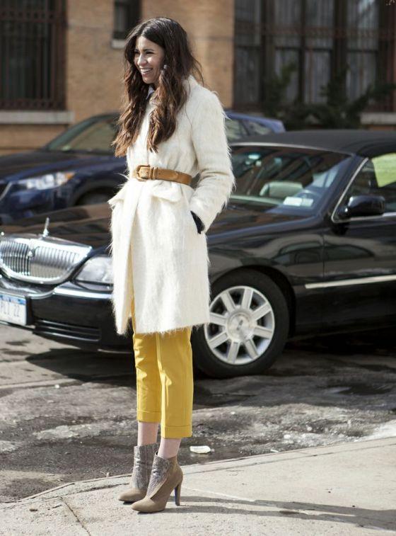 abrigo tela ligera marca cintura